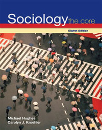 Test Bank For » Test Bank For Sociology: The Core, 8 edition: Carolyn Kroehler Download | Sociology Online Test Bank | Scoop.it