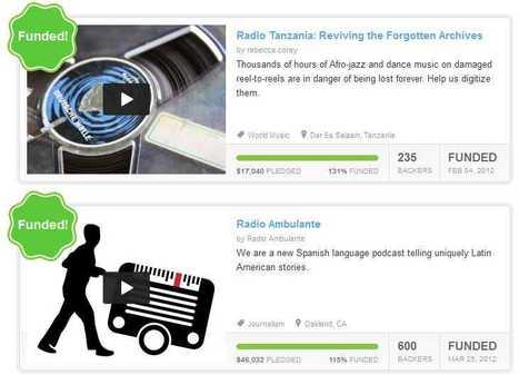 Five Kickstarter radio projects that worked | Radio Survivor | Radio 2.0 (En & Fr) | Scoop.it