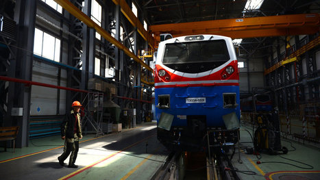 Kazakhstan's Bet on Rail | Sustain Our Earth | Scoop.it
