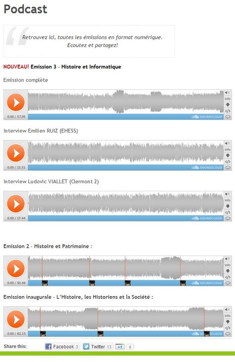 Podcast : Comprendre la mécanique de l'Histoire et des Historiens | Time to Learn | Scoop.it