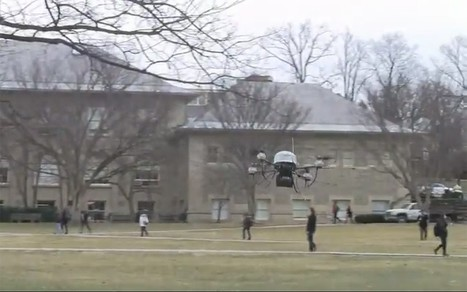 Drone that can dodge obstacles developed by US scientists | Rise of the Drones | Scoop.it