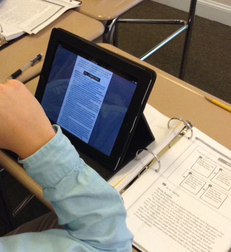 iPad as #dyslexiatech | Assistive Learning | Scoop.it