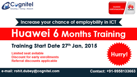 6 Months Industrial Training Program - Cognitel | Cognitel Training Courses | Scoop.it