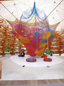 """playscapes: Playground Crochet by Toshiko Horiuchi 