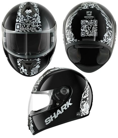 QR Code Motorcycle Helmet | Mobile - Mobile Marketing | Scoop.it