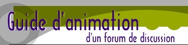 Guide d'animation d'un forum de discussion | ENT | Scoop.it