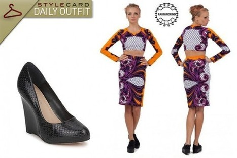 Daily Outfit: Seeing Double | StyleCard Fashion Portal | StyleCard Fashion | Scoop.it