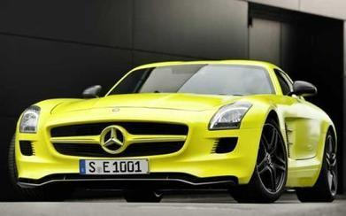 Mercedes First Electric Car Information & Pictures | Electric Car Pictures | Scoop.it