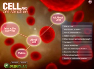 Great iPad App for Science Teachers: Cell and Cell Structure | Wired Educator | Prendi eLearning Mathematics & Science | Scoop.it