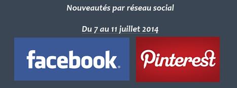 Récapitulatif des dernières fonctionnalités par réseau social : du 7 au 11 juillet 2014 | CommunityManagementActus | Scoop.it
