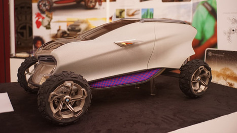 BMW et l'impression 3D : Maasaica nouveau concept car ! | Ateliers Jisseo | Scoop.it