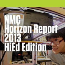 NMC Horizon Report: 2013 Higher Education Edition   Higher Education Teaching and Learning   Scoop.it