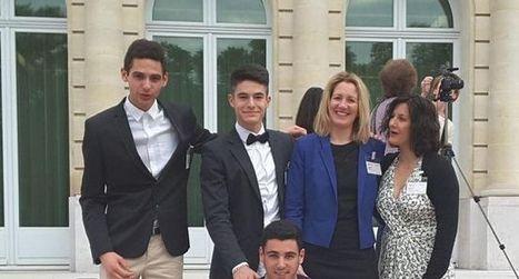 Des lycéens récompensés à Paris | water news | Scoop.it