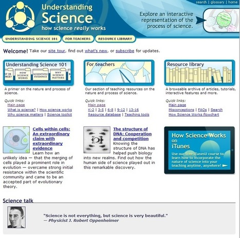 Learning Never Stops: 7 outstanding science based websites you may not know | Technology for Learning | Scoop.it