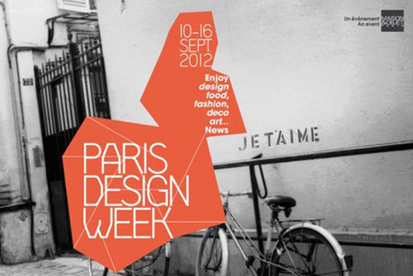 Paris Design Week 2012 | Paris lifestyles | Scoop.it