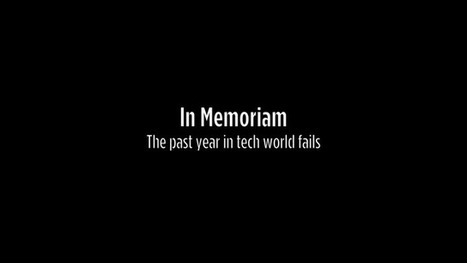 In Memoriam: The Year in Tech Fails #fail | MarketingHits | Scoop.it