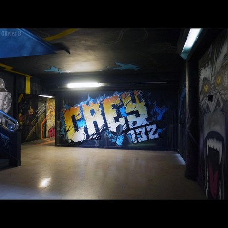 REHAB – Exposition Éphémère de Graffiti #6   Paris Tonkar magazine   Scoop.it