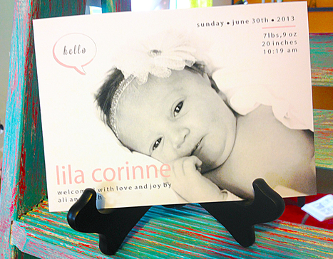 Custom birth announcements - you won't see them on any other site! | Personalized Gifts and Custom Stationery | Scoop.it