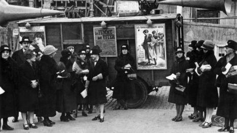 Le droit de vote des femmes en France a 70 ans - Le Figaro | stéréotypes sexistes | Scoop.it