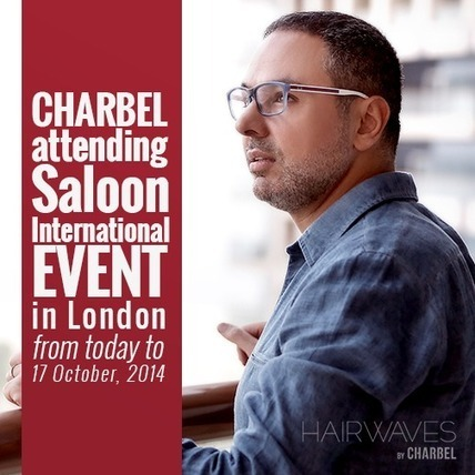 Charbel attending Saloon International Event in London from today to 17 October, 2014 | Fashion in UAE | Scoop.it