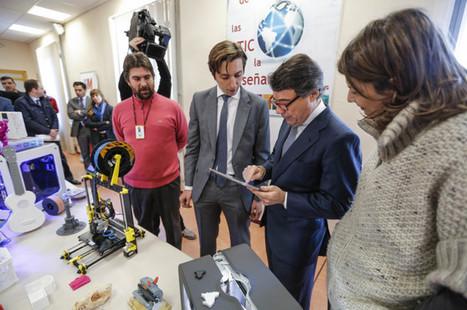 Todos los institutos de Madrid tendrán impresoras 3D y kits de robótica   tecno4   Scoop.it