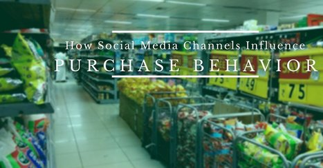 How Social Media Channels Influence Purchase Behavior | ELM - Healthy Community | Scoop.it