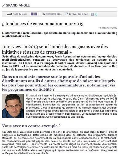 2013 sera l'année des magasins (avec La Poste/Le Hub) | Retail-distribution en veille | Scoop.it