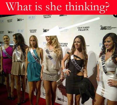 What Is She Thinking? Picture From Ms. World Competition | Personal Branding Using Scoopit | Scoop.it