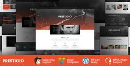 Free Prestigio - One Page Parallax WordPress Theme | Wordpress Themes | Scoop.it