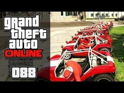 GTA ONLINE [HD+] #088 - GTA Mario Kart (Xmas Edition) ★ Let's Play GTA Online | whatsbest3 | Scoop.it