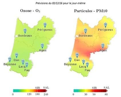 POLLUTION. Le préfet déclenche le premier niveau du plan d'alerte en Gironde | Qualité de l'air en Nouvelle-Aquitaine | Scoop.it