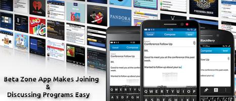 BlackBerry 10's Beta Zone App Makes Joining & Discussing Programs Easy   BLACKBERRY APP MART   Scoop.it