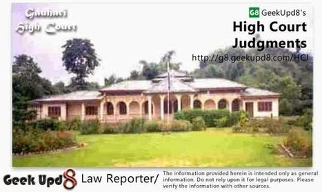 In cases of defective investigation by police or examination by doctors, Court has to circumspect by evaluating evidence - It would be like to play in hands of defective investigation by Police or ... | Law Reporter | Scoop.it