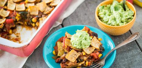 Enchilada Casserole | My Vegan recipes | Scoop.it