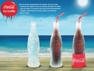 Coca-Cola lance une bouteille biodégradable… faite de glace ! | Machines Pensantes | Scoop.it