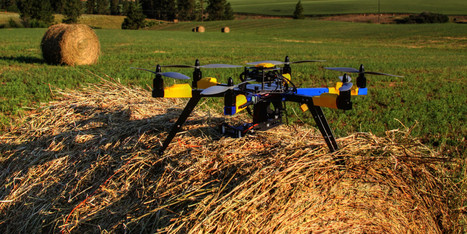 How Drones Could Revolutionize Farming | leapmind | Scoop.it