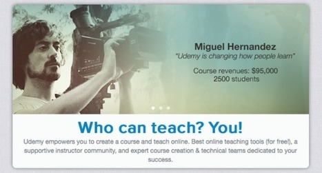 3 Online Learning Platforms Perfect For Teachers   Edudemic   Tech in teaching   Scoop.it