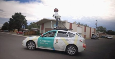 "Street View : les voitures ""reniflent"" désormais la pollution 