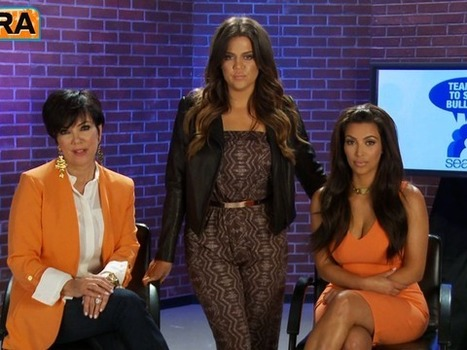 Video! The Kardashians Team Up to Stop Bullying | Community Village Daily | Scoop.it