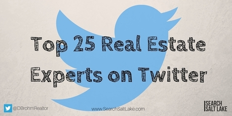 25 Twitter Accounts To Follow For Real Estate | Social Media & SEO | Scoop.it