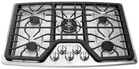 """Frigidaire FPGC3087MS Professional 30"""" Stainless Steel Gas Sealed Burner Cooktop   Things I Like   Scoop.it"""