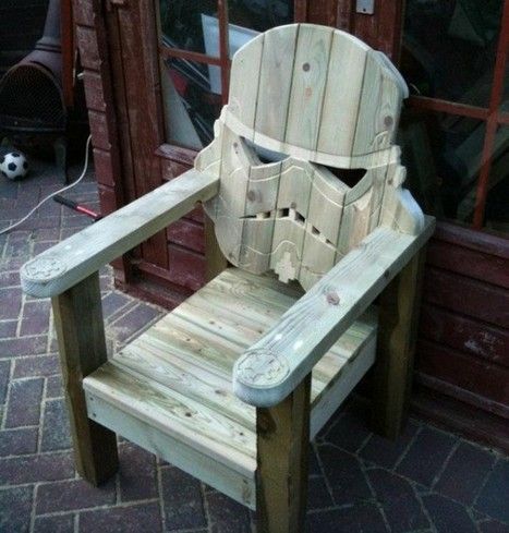 The Stormtrooper Head Lawn Chair You Were Looking For | All Geeks | Scoop.it