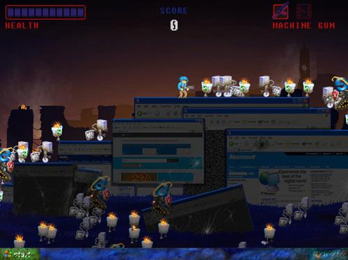 Microsoft livre un jeu pour chasser XP 2