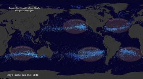BELLES IMAGES...La carte interactive de la Nasa qui illustre le désastre de la pollution en mer | Développement durable et efficacité énergétique | Scoop.it