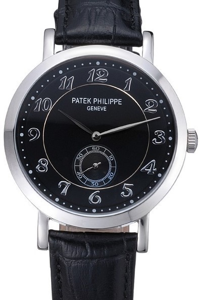 Cheap Replica Patek Philippe Calatrava Stainless Steel Black Dial Watch-$175.00 | Men's & Women's Replica Watches Collection Online | Scoop.it