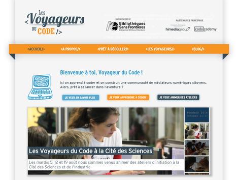 Voyageur du code ! Concept de programmation (ressources, outils, concours....) | Time to Learn | Scoop.it