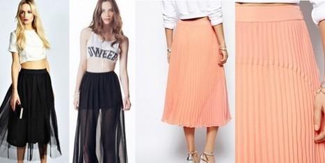 Black o Bon Ton, il trend è top corto e gonna a vita alta   Moda Donna - sfilate.it   Scoop.it