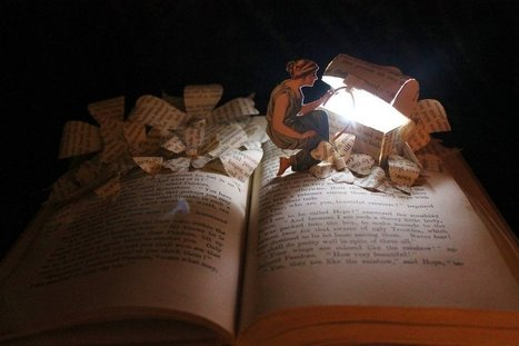 Pandora's Box book sculpture by Jodi Harvey-Brown | ROPL on Tumblr | Book sculpture | Scoop.it