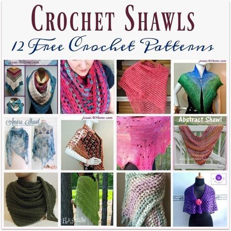 Crochet Shawls ~ 12 FREE Crochet Patterns | Jessie At Home | Free Crochet Patterns | Scoop.it