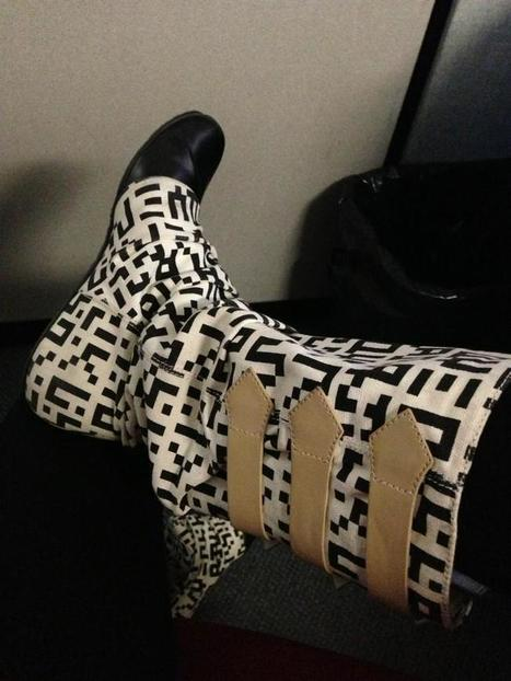QR boots ! | QRdressCode | Scoop.it